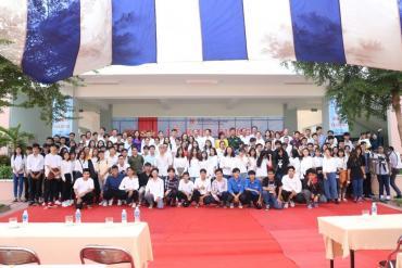Trường Đại học Kiến Trúc Tp. HCM khai giảng tại Khu Đô thị Đại Học
